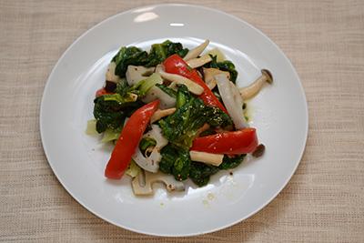 焼きサラダ菜サラダ
