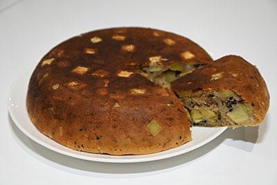 炊飯器で作るサツマイモケーキ